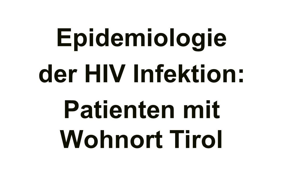 Organisation des HIV Bereichs der Unikliniken/LKH Innsbruck