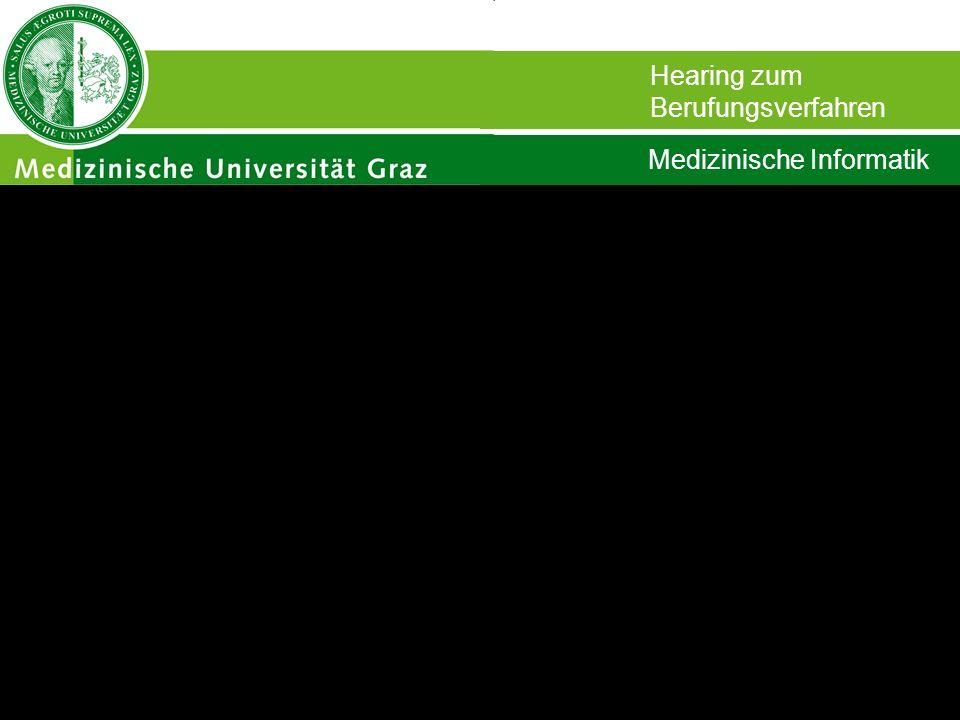 Stefan Schulz Institut für Medizinische Biometrie und Medizinische Informatik Die Bedeutung von Information in der Medizin Hearing zum Berufungsverfahren Medizinische Informatik
