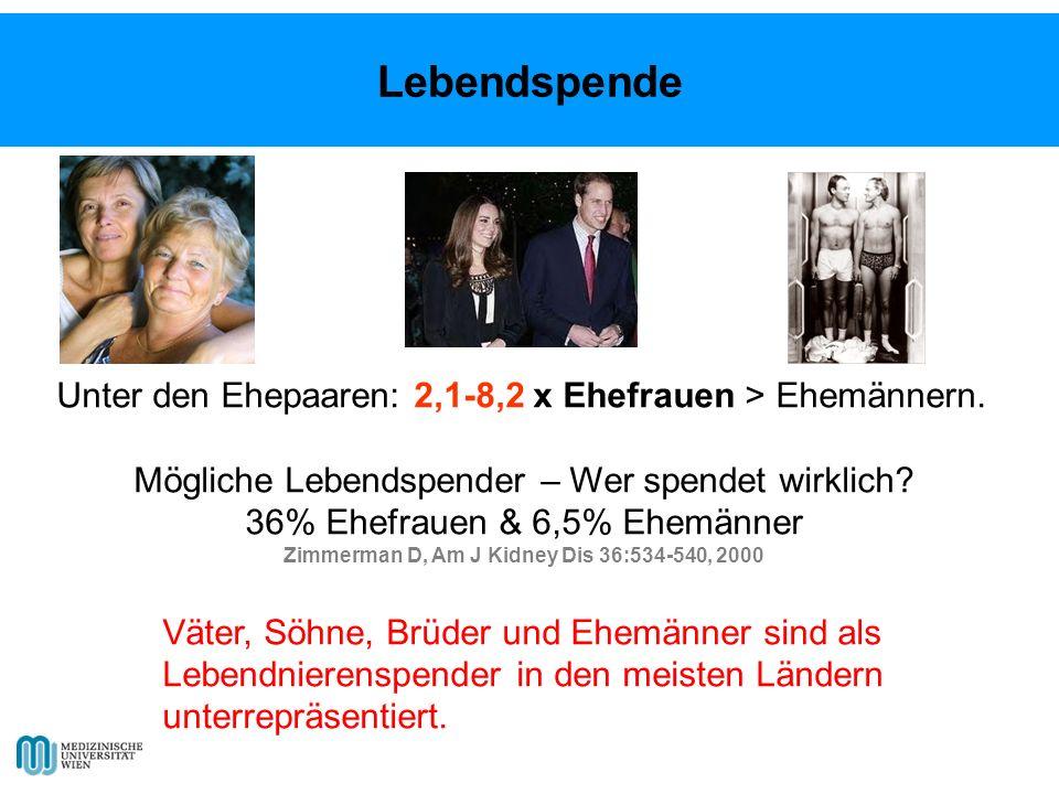 Unter den Ehepaaren: 2,1-8,2 x Ehefrauen > Ehemännern.