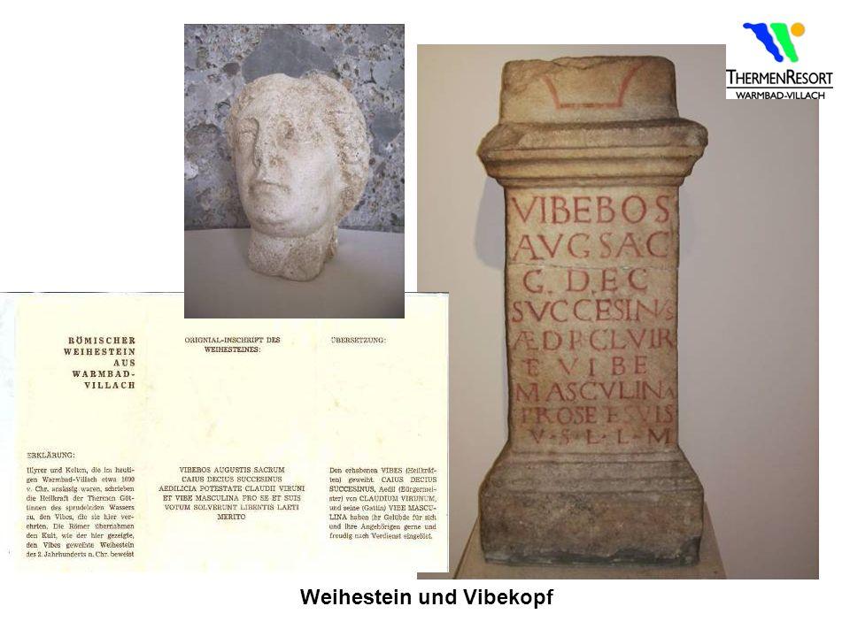 Weihestein und Vibekopf