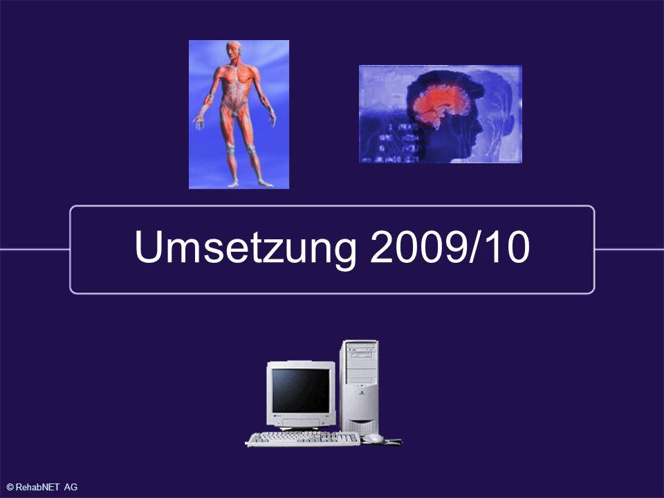© RehabNET AG Umsetzung 2009/10