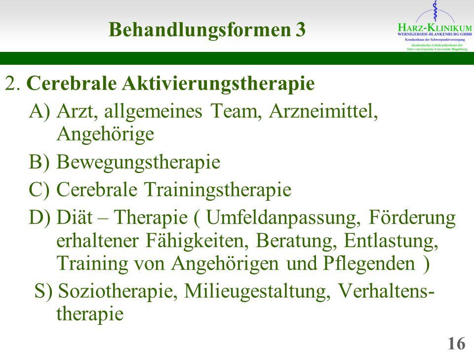 Behandlungsformen 3 2.