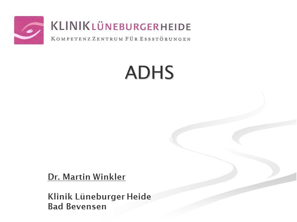 2www.klinik-lueneburger-heide.de ADHS und Beruf - Was ist ADHS.