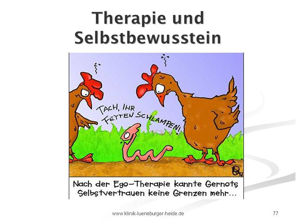 77www.klinik-lueneburger-heide.de Therapie und Selbstbewusstein