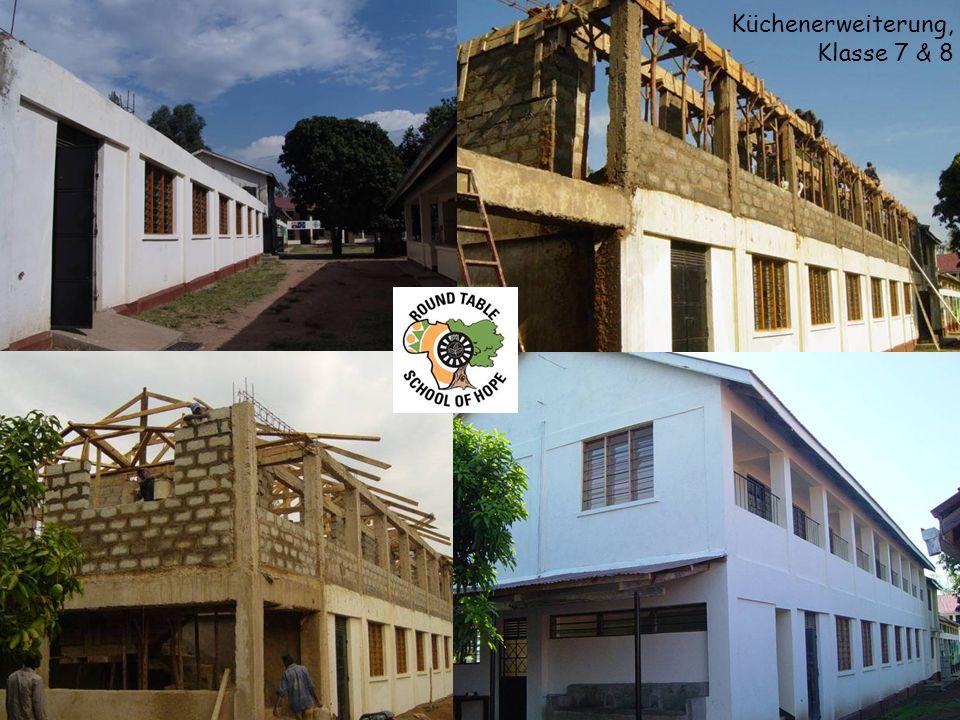 12 Räume der Secondary School – 12 Distrikte bei RTD und OTD = 12 Paten?!?.
