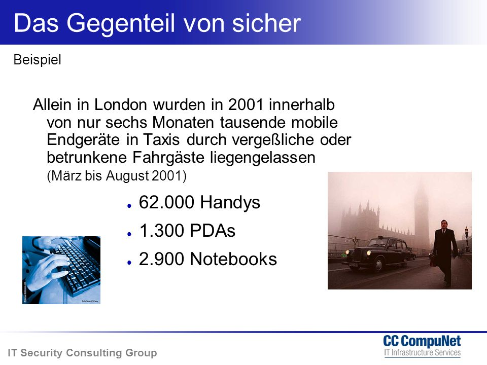 IT Security Consulting Group Alles zu Patchen ist unmöglich Story, Forbes, 23. Mai 2003
