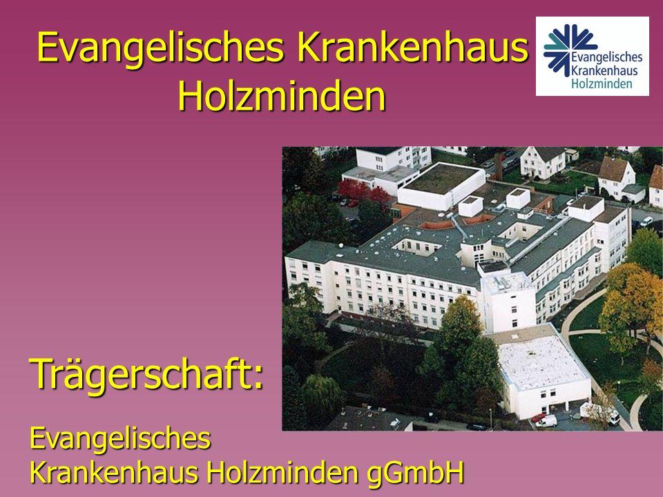 Evangelisches Krankenhaus Holzminden Trägerschaft:Evangelisches Krankenhaus Holzminden gGmbH