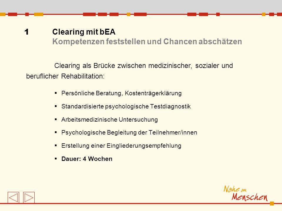 Persönliche Beratung, Kostenträgerklärung Standardisierte psychologische Testdiagnostik Arbeitsmedizinische Untersuchung Psychologische Begleitung der