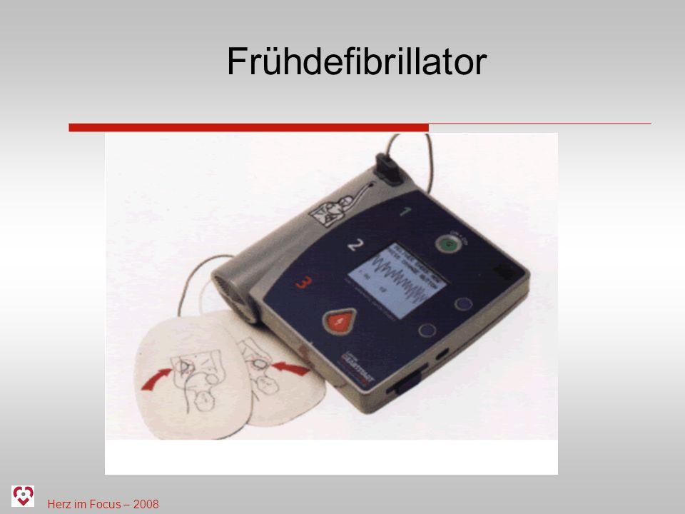 Herz im Focus – 2008 Frühdefibrillator