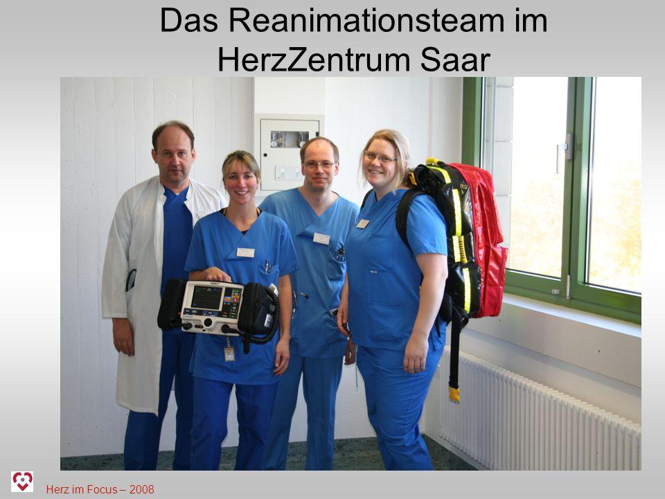 Herz im Focus – 2008 Das Reanimationsteam im HerzZentrum Saar