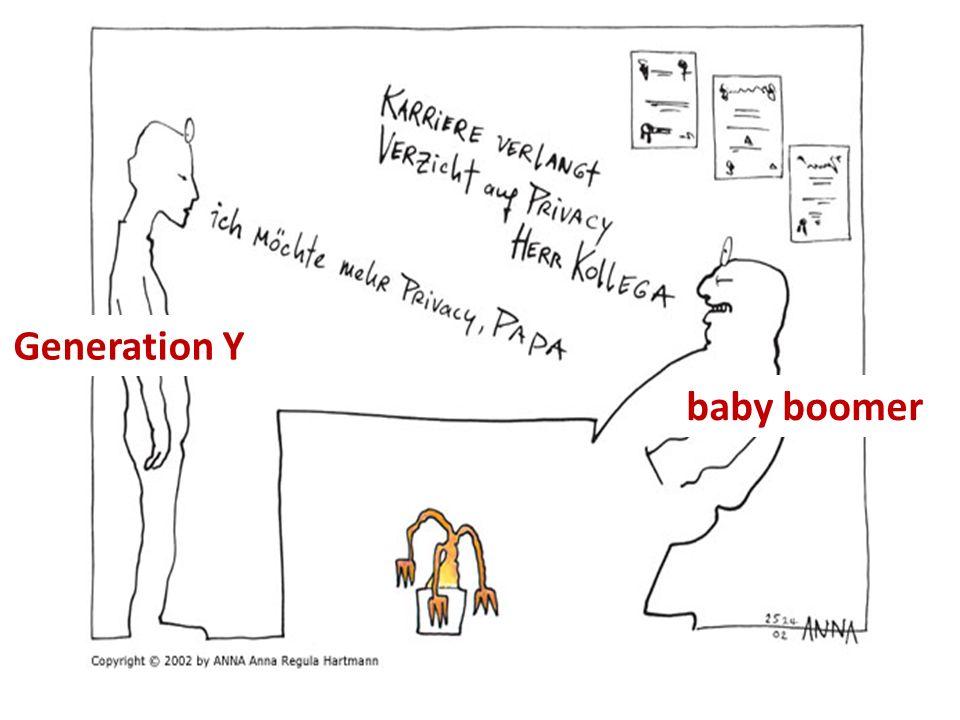 baby boomer Generation Y