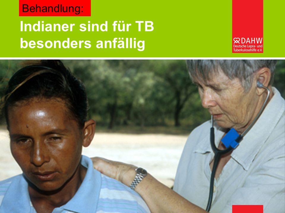 Welche Gesundheitssysteme können sich afrikanische Länder leisten? – Burkard Kömm Indianer sind für TB besonders anfällig Behandlung: