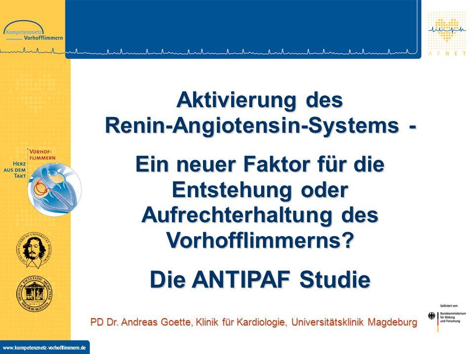 www.kompetenznetz-vorhofflimmern.de PD Dr.