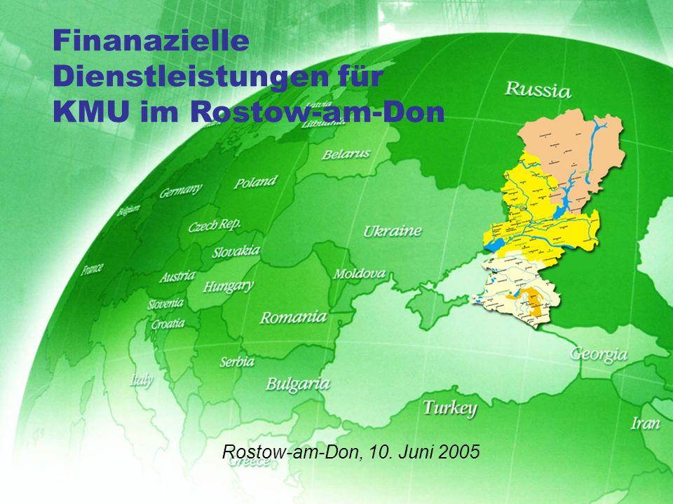 1.KMU Südrusslands: Wachstumpotential 2.