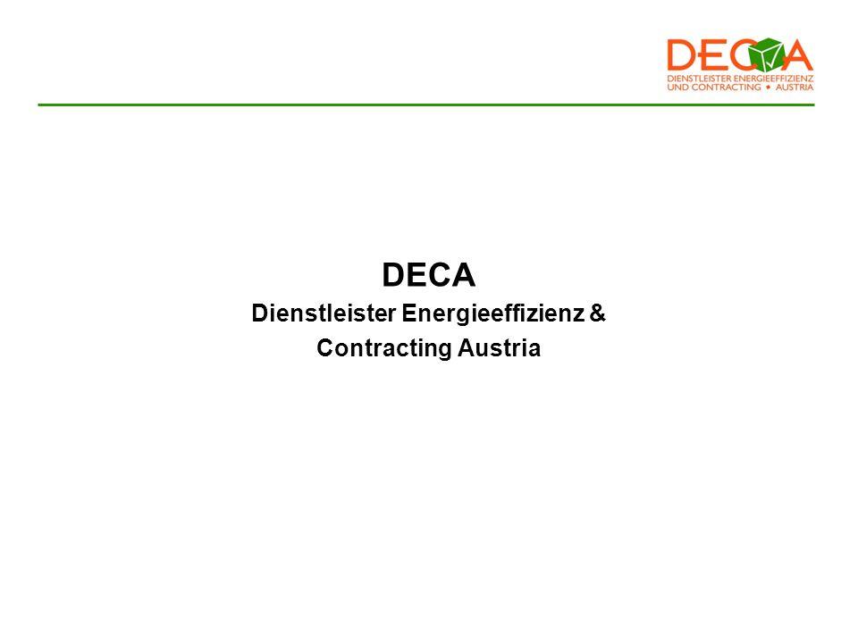DECA Dienstleister Energieeffizienz & Contracting Austria