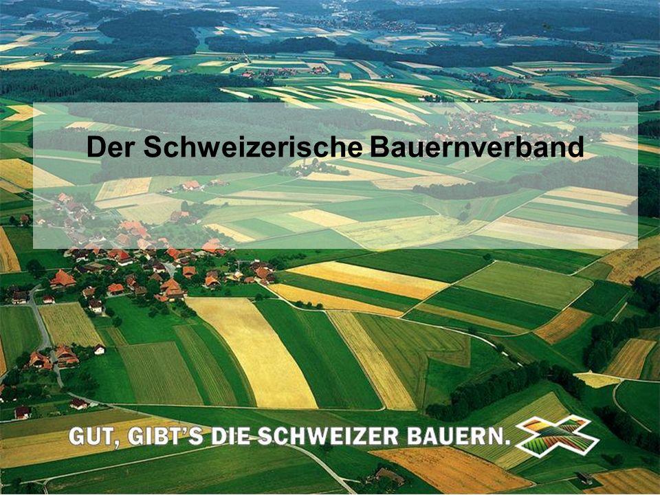 Schweizerischer Bauernverband Union Suisse des Paysans Unione Svizzera dei Contadini © SBV/USP Der Schweizerische Bauernverband