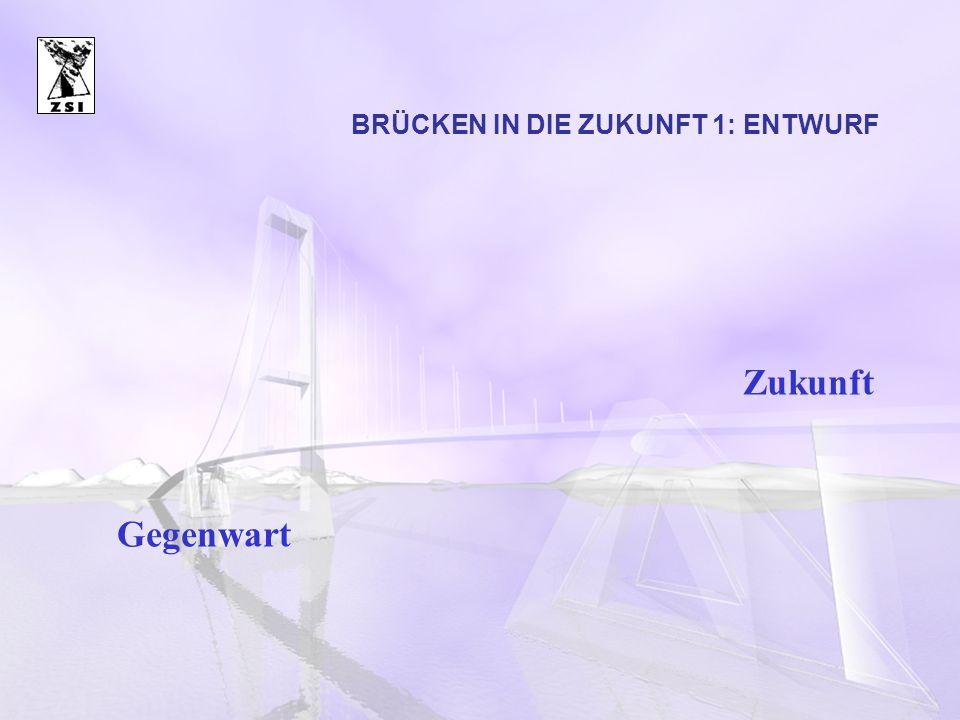 BRÜCKEN IN DIE ZUKUNFT 1: ENTWURF Gegenwart Zukunft