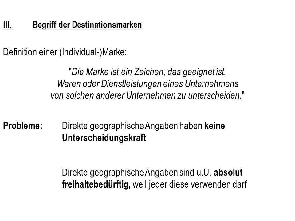 IV.Schutz der Herkunftsangabe durch Bundesrat Art.