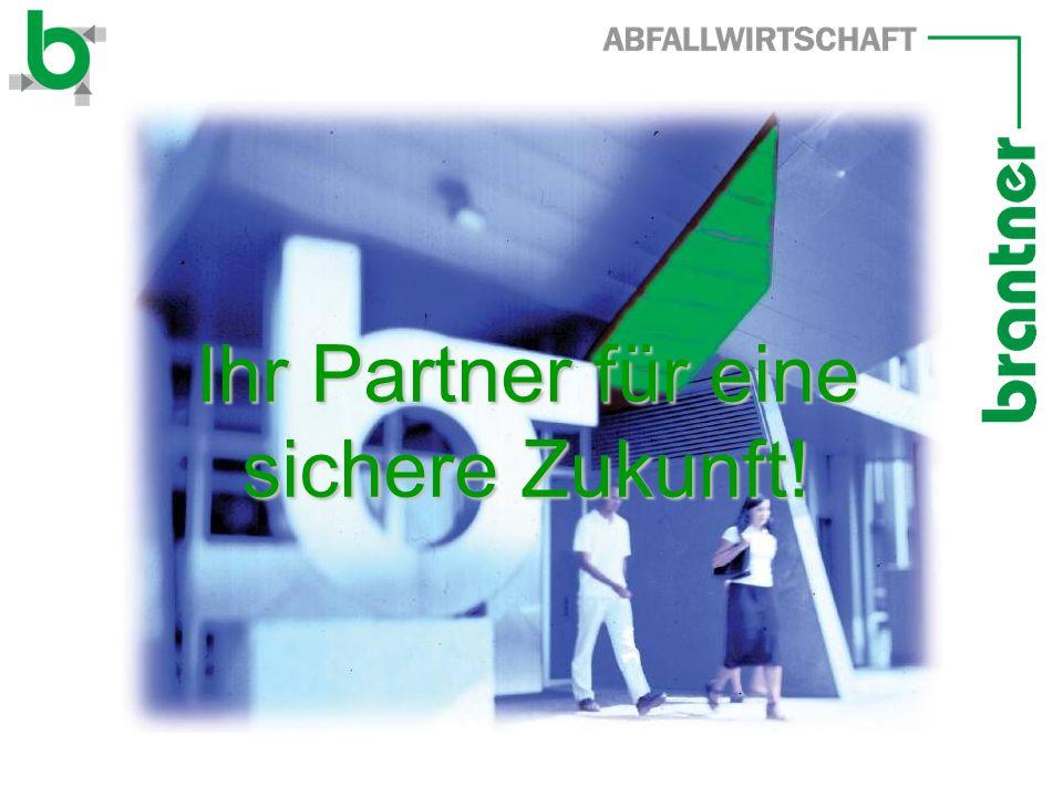 Ihr Partner für eine sichere Zukunft!