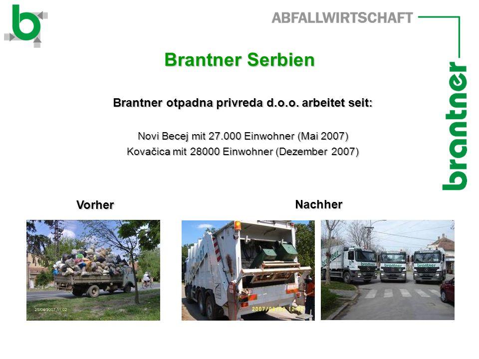Brantner Serbien Brantner otpadna privreda d.o.o.