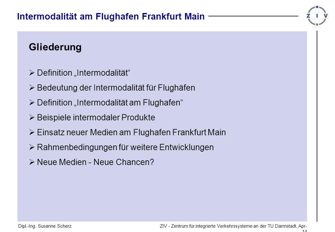 ZIV - Zentrum für integrierte Verkehrssysteme an der TU Darmstadt, Apr-14Apr-14 Neue Medien - Neue Chancen.