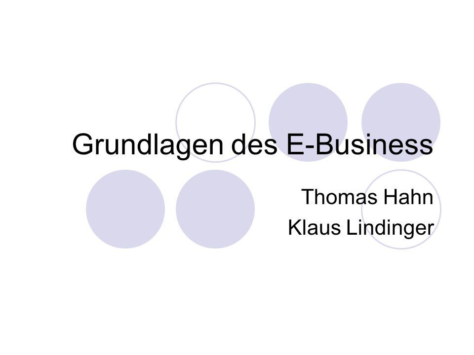 Definition von E-Business Scheffler et al.