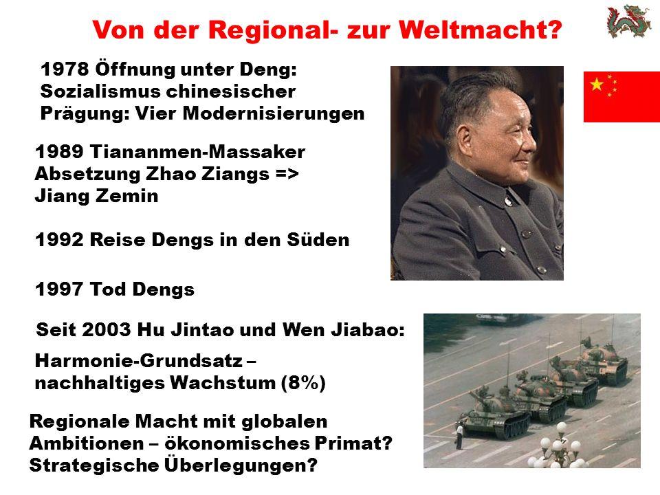 Von der Regional- zur Weltmacht.