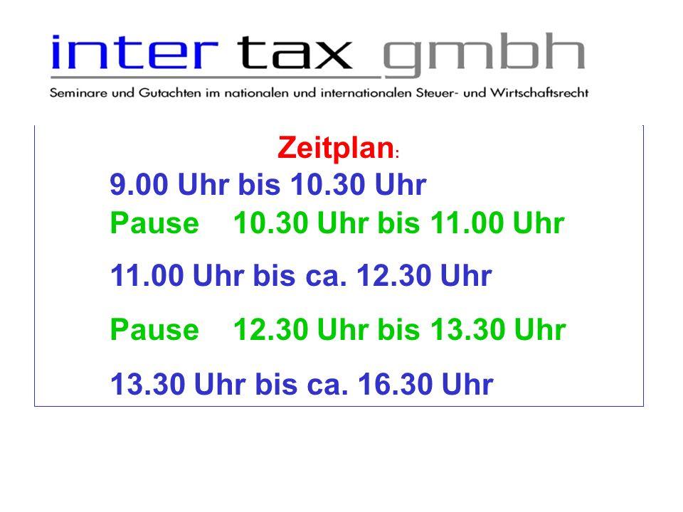 Jahressteuergesetz 2013 Zeitplan: 06.03.20121.
