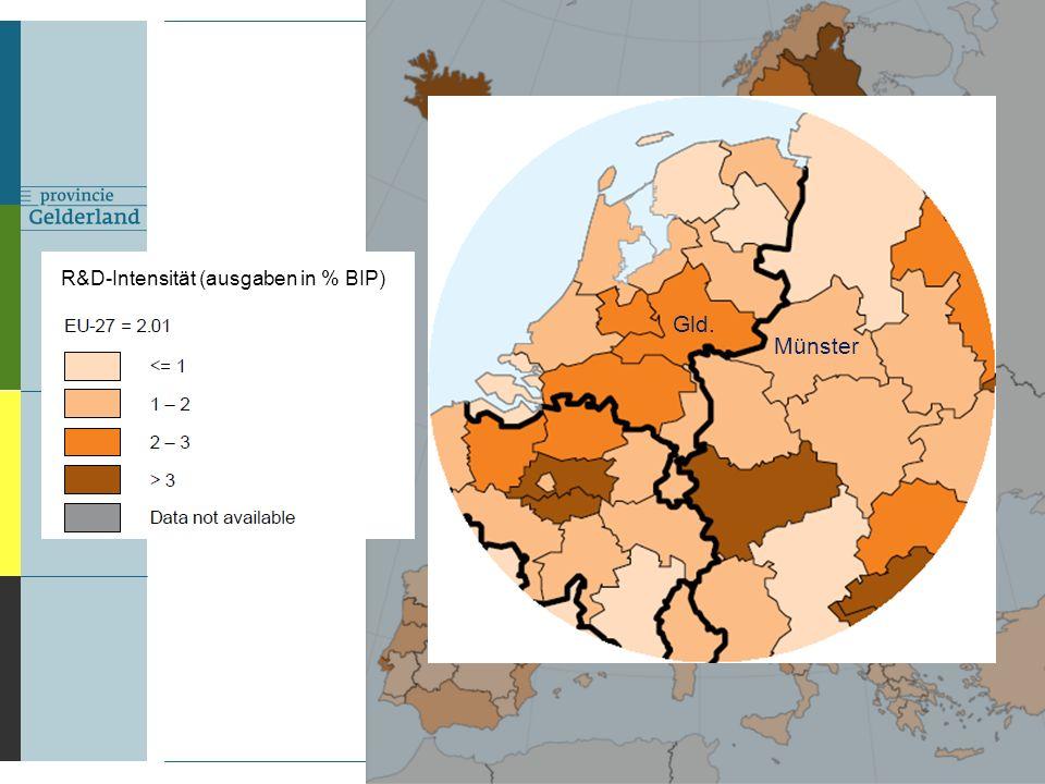 16 Gld. Münster R&D-Intensität (ausgaben in % BIP)
