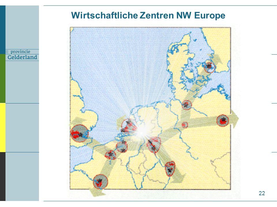 22 Wirtschaftliche Zentren NW Europe