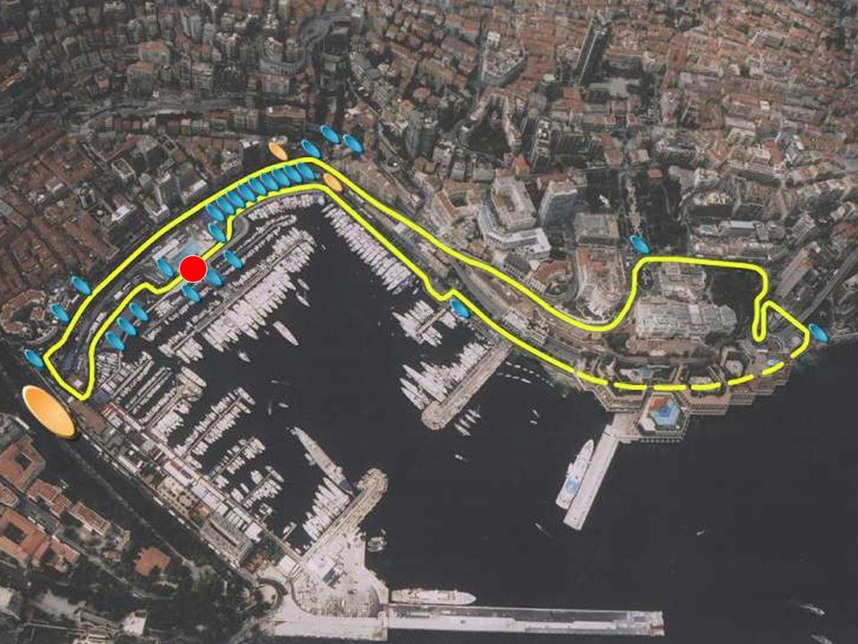 Grand Prix von Monaco Monte Carlo Monte Carlo 3.340 km Länge 3.340 km Länge 78 Runden 78 Runden Enge Kurve, Unebenheiten Enge Kurve, Unebenheiten Über