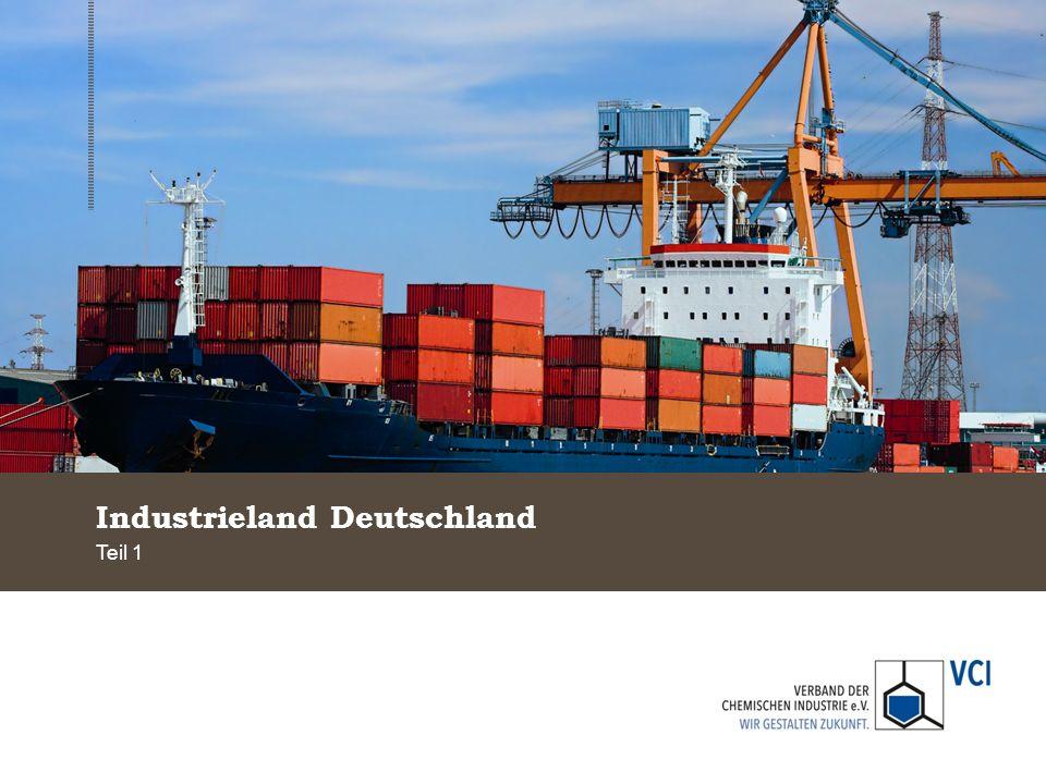 Deutschland und China erzielen hohen Außenhandelsüberschuss bei Industriegütern Außenhandelsbilanz mit Waren 2011, in Mrd.