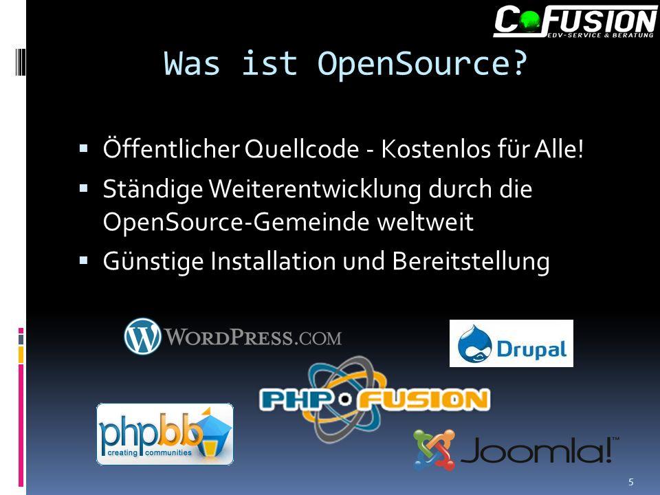 Was ist OpenSource. Öffentlicher Quellcode - Kostenlos für Alle.