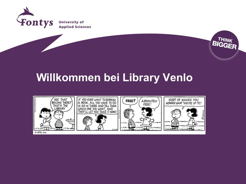 Willkommen bei Library Venlo