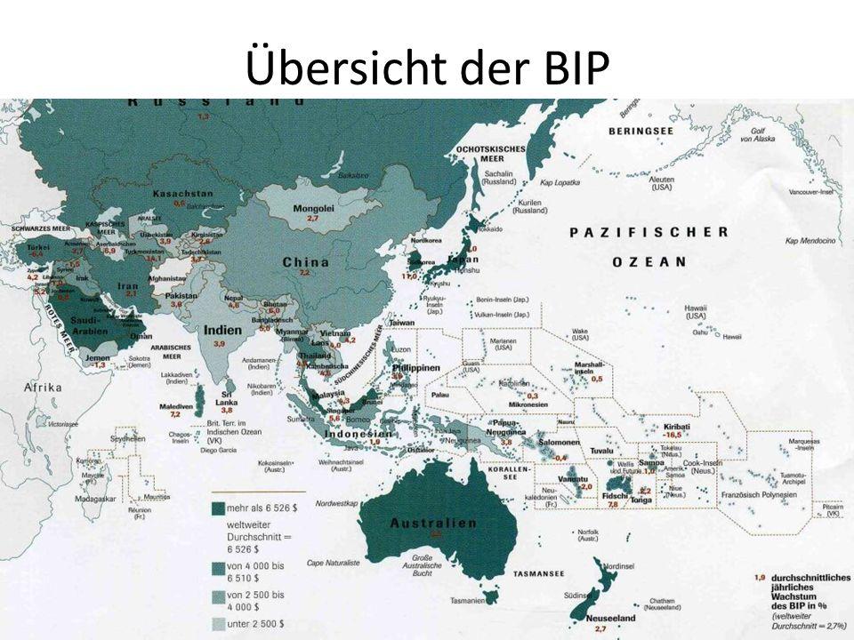 Übersicht der BIP