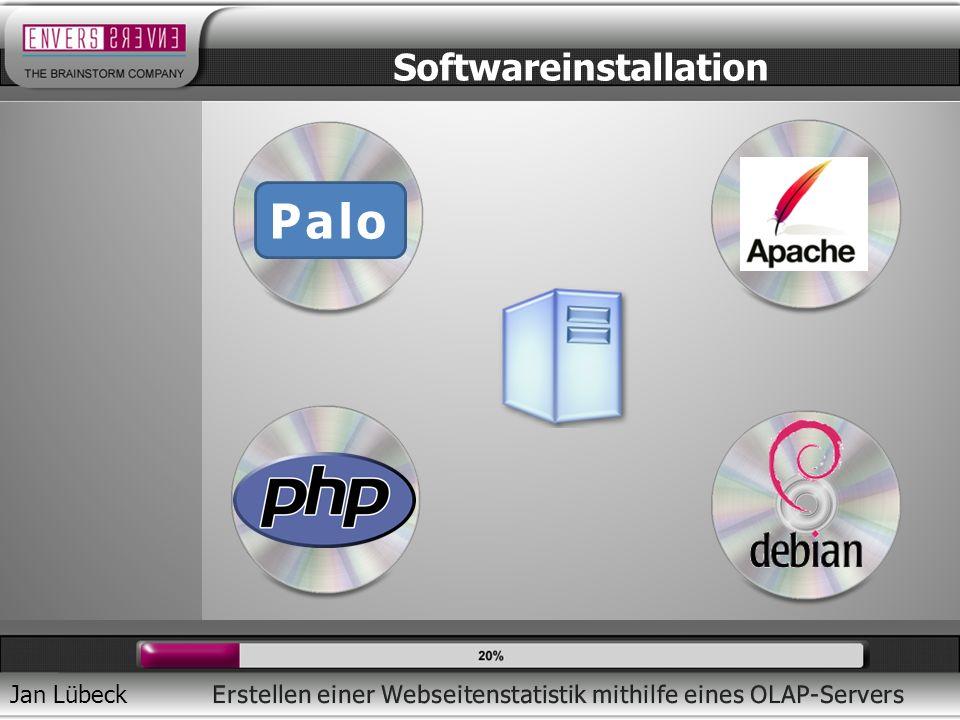 Jan Lübeck Softwareinstallation Palo