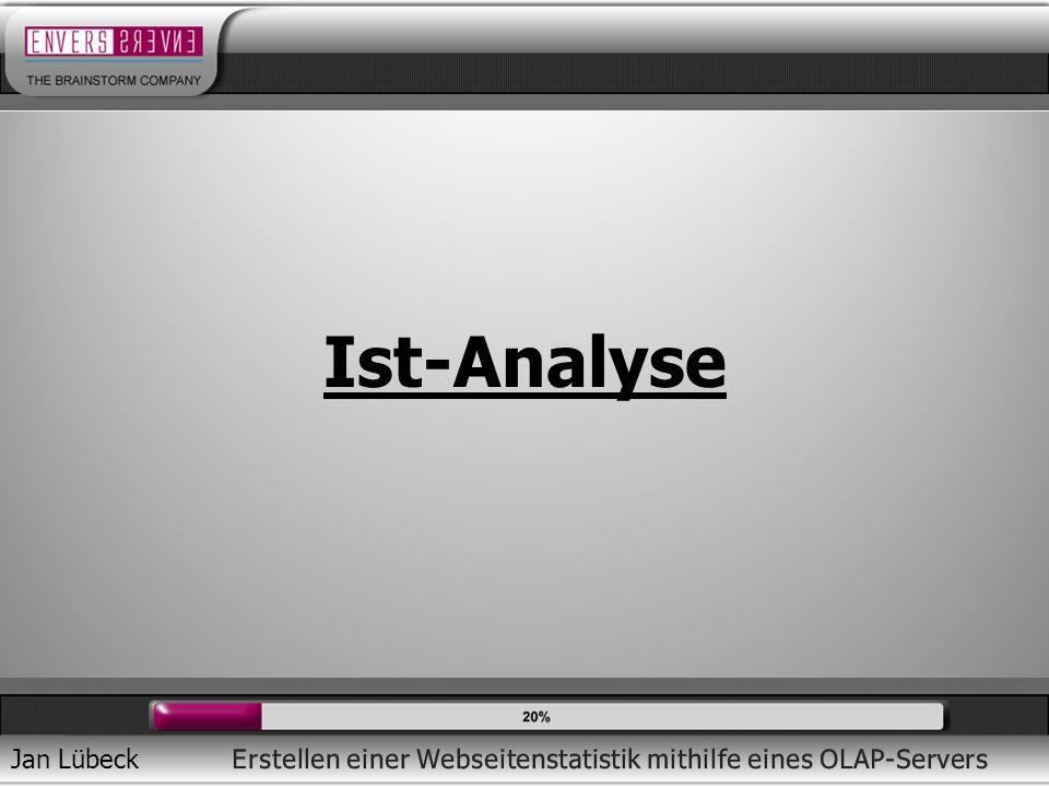 Jan Lübeck Ist-Analyse