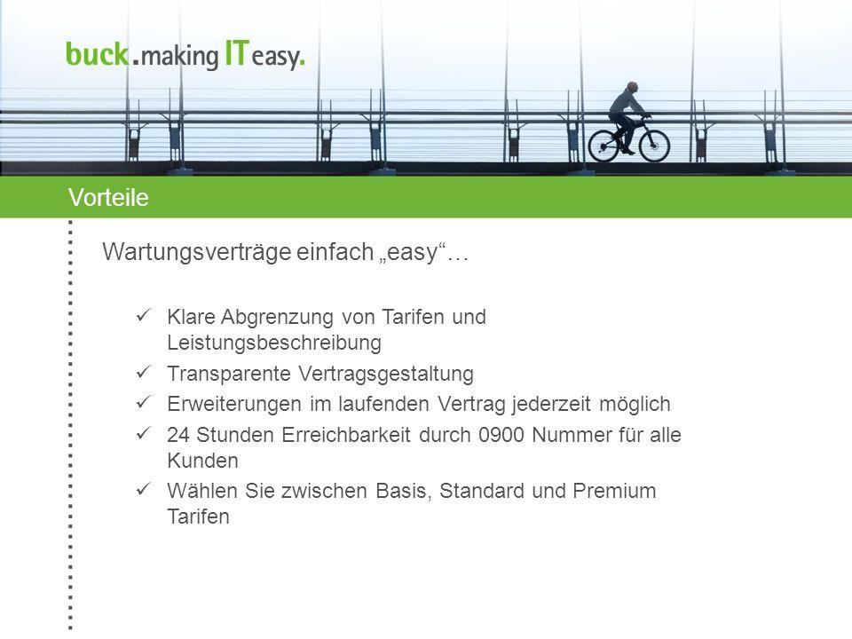 Weitere Informationen erhalten Sie im Internet unter www.making-it-easy.de buck.