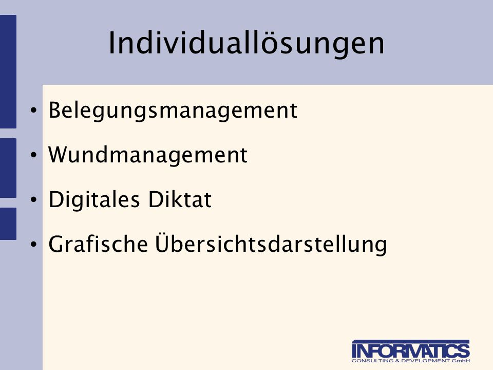 Beispiel: Wundmanagement Basis: parametrisiertes Dokument + Subscreen, Docking-Container & HTML-Control