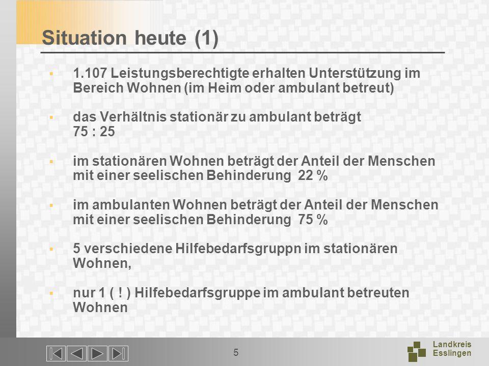 Landkreis Esslingen 16 Für die Arbeitsgruppen Ich freue mich auf Ihre Anregungen und Gedanken