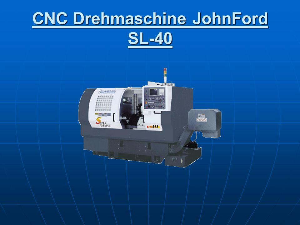CNC Drehmaschine JohnFord SL-40