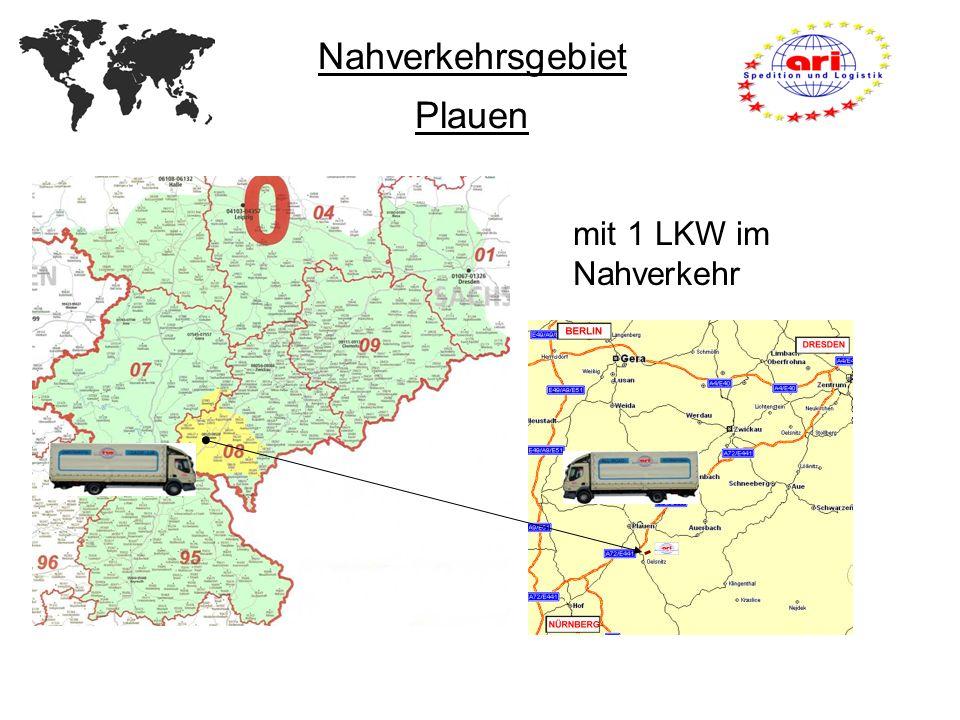 Nahverkehrsgebiet Plauen mit 1 LKW im Nahverkehr