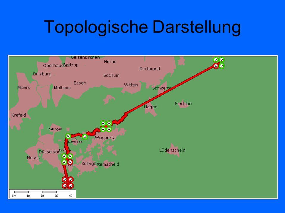 Topologische Darstellung