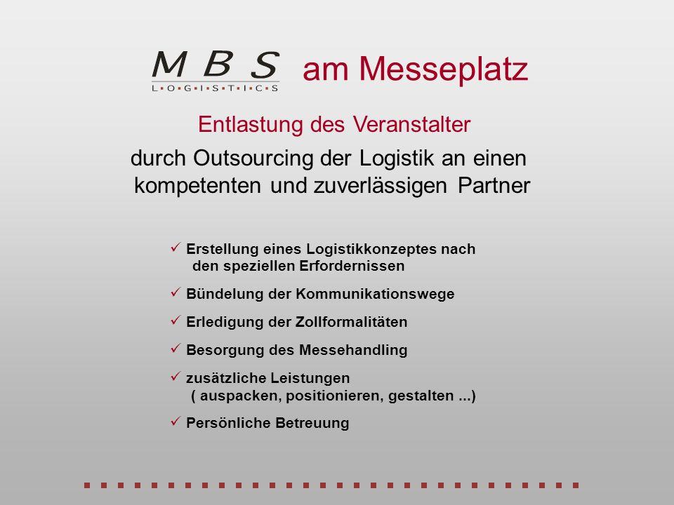 der Offizieller Messespediteur ITS – Programmvorstellung Bundeshaus, Bonn Das sagen unsere Kunden...