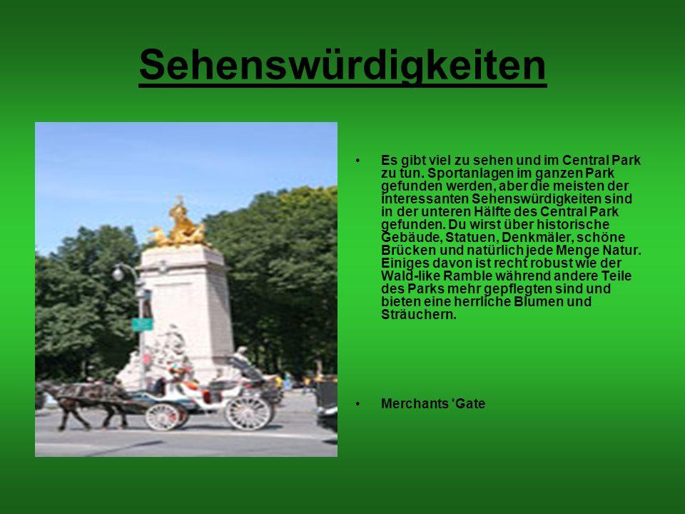 Grundrisse des Central Parks Das sind die Grundrisse des Central Parks