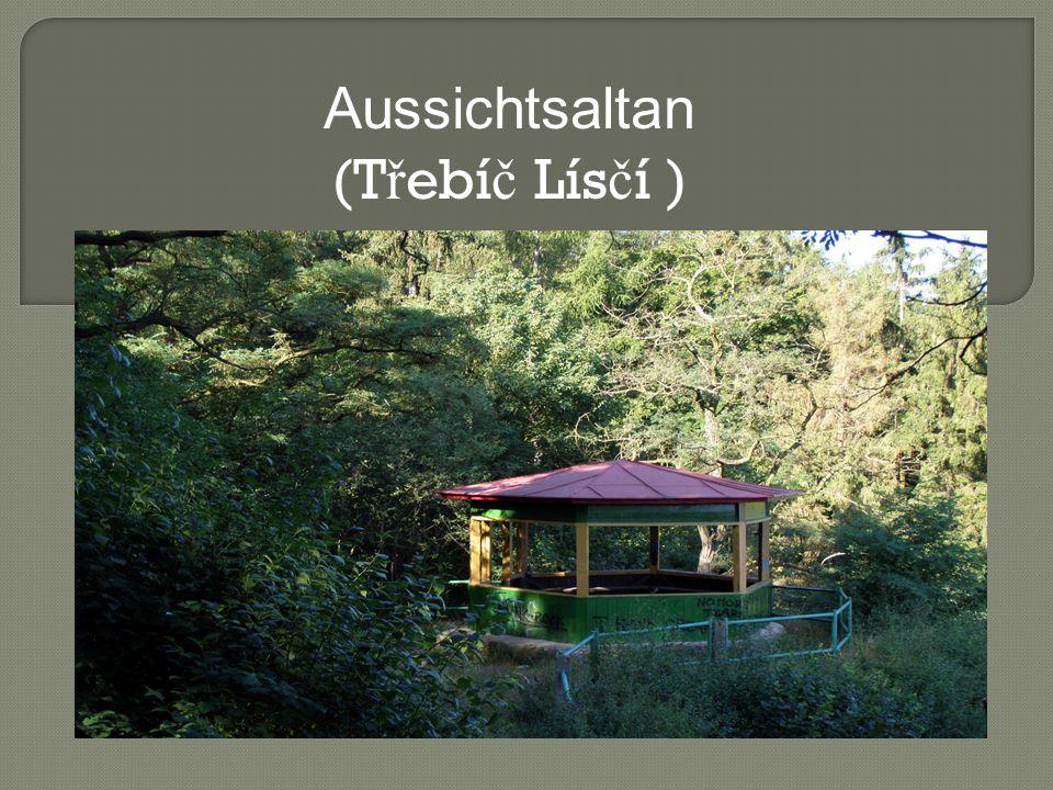 Aussichtsaltan (T ř ebí č Lís č í )