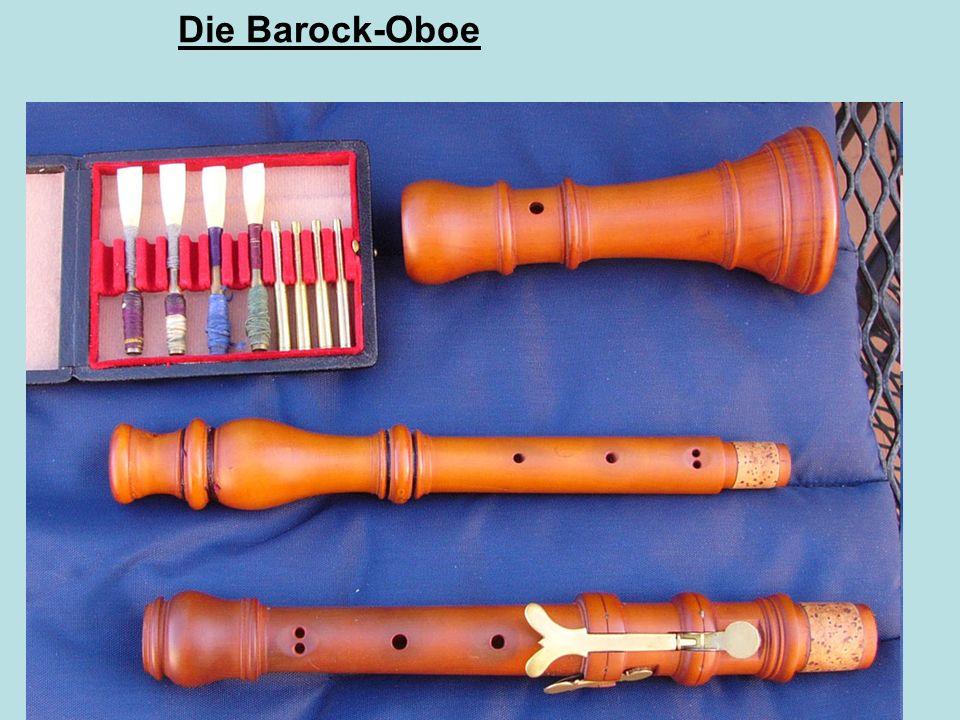 Die Barock-Oboe