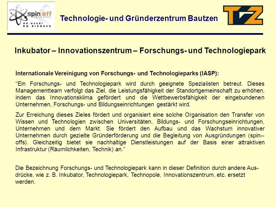 Internationale Vereinigung von Forschungs- und Technologieparks (IASP): Ein Forschungs- und Technologiepark wird durch geeignete Spezialisten betreut.