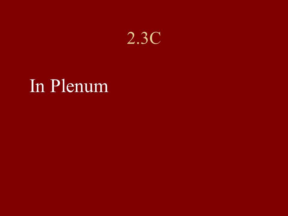 2.3C In Plenum