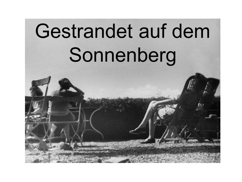 Gestrandet auf dem Sonnenberg
